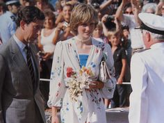 Charles & Diana on Honeymoon
