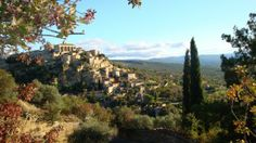 Glorious village of Gordes in the Provence area of France — at Provence, France.