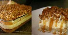 Easy Recipes: Caramel Apple Cheesecake Bar