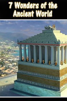 Can you name the 7 Ancient Wonders of the World? Virtual Travel, Virtual Tour, Educational Websites, Educational Activities, Home Learning, Fun Learning, Mausoleum At Halicarnassus, 7th Grade Social Studies, Virtual Field Trips