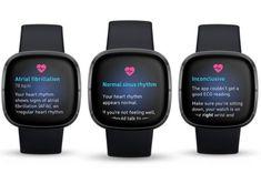 Fitbit Sense - ceasul care concurează cu Apple și Samsung prin activarea timpurie a funcției ECG - Gadget Zone Apple Watch, Ecg App, Fitbit App, Atrial Fibrillation, Heart Rhythms, Fitness Tracker