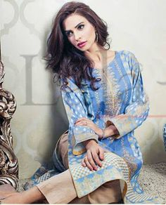 KESA Kurti by Lala Embroidered Winter Collection 2015-2016 (08a)