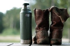 100 years of Stanley. Get yours today. http://modestwanderer.com/products/stanley-thermos