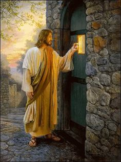 The perfect Knocking Jesus Animated GIF for your conversation. Discover and Share the best GIFs on Tenor. Images Du Christ, Pictures Of Jesus Christ, Religious Pictures, Religious Art, Jesus Christ Painting, Jesus Art, King Jesus, Jesus Is Lord, Image Jesus