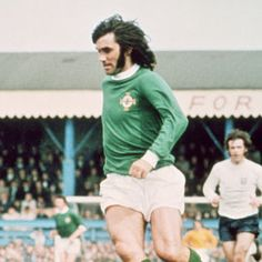 The best footballer to of ever lived. Northern Ireland's George Best