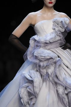 Christian Dior at Couture Spring 2011 - StyleBistro