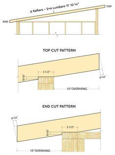 Lean To Shed Plans, Diy Shed Plans, Carport With Storage, Garage Storage, Shed Design, Garden Design, Firewood Shed, Roof Trusses, Shed Roof