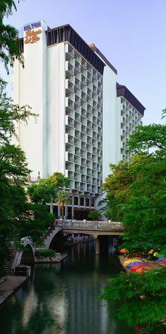 Hilton Palacio del Rio hotel on the San Antonio River Walk.