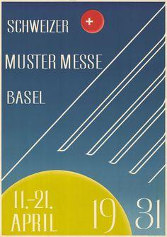 Anon, Schweizer Mustermesse Basel, 1931