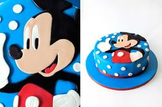 Mickey Cake ... great face!