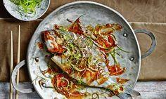 Sea bream in fish fragrant sauce