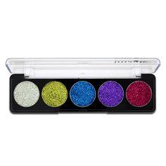 Paleta de sombra de ojos IMAGIC Brilho Bright Rainbow cosméticos de maquillaje Rainbow Diamond presionó sombra de ojos