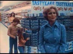 Philly ~ Betty White in an old Tastykake TV commercial! Tastykake is a Philadelphia favorite. The Tasty Baking Co. opened in 1914. [Video]