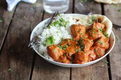 Easy Healthier Crockpot Butter Chicken | halfbakedharvest.com (need red curry paste),