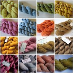 Oxford Kitchen Yarns - naturally dyed yarns from Headington, Oxford