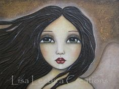 Lisa Lectura Creations: Update and Surprise! Mixed Media Faces, Mixed Media Art, Oil Pastel Drawings Easy, Portrait Art, Portraits, Naive Art, Lisa, Whimsical Art, Acrylic Art