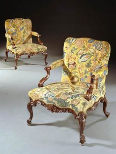 THE ECCLESHALL CASTLE CHAIRS - 1774 English Antique Furniture – Ronald Phillips Antique Dea...