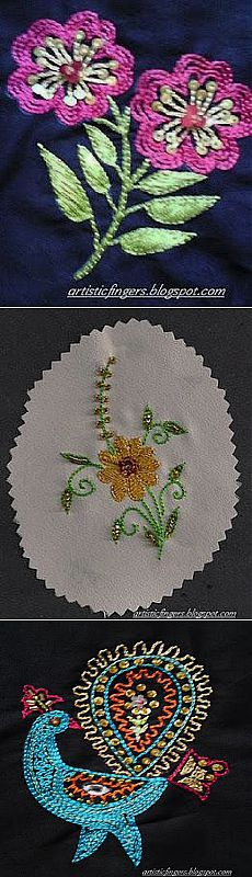 Let's learn embroidery: Indian embroidery-aari work