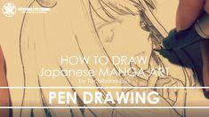✔ Pen Drawing| How to draw Manga Art 2018.02.22