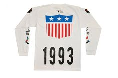 TI$A 1993 SHIELD PATCHWORK T-SHIRT / TI$A ONLINE SHOP