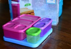 Pack a Bento Lunch Box with Rubbermaid Lunch Blox for Kids - Growing Up Gabel