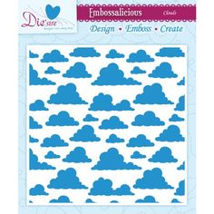 $3.49 - Free Shipping for Prime as Add-On  Crafter's Companion Embossalicious Embossing Folders, 6 by 6-Inch, Clouds Crafter's Companion http://www.amazon.com/dp/B00GBGZTKS/ref=cm_sw_r_pi_dp_Z6QFub1J0THXZ