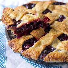 Blueberry Pie (From King Arthur Flour website) | Circles Of Gresilda