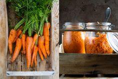 Syrade morötter - bakterieboost   Skog till bord   Katarina Ekeström Kombucha, Carrots, Vegetables, Food, Veggie Food, Vegetable Recipes, Meals, Veggies, Carrot