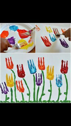 Fork painting