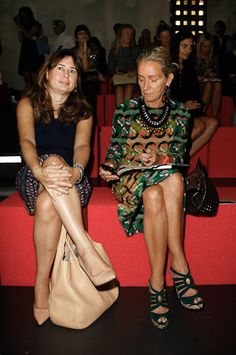 lucinda chambers on the right
