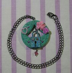 ♥ steampunk necklace, victorian jewelry, goth necklace, gothic lolita jewelry, victorian flowers ♥  https://www.etsy.com/shop/StarlightSparkles