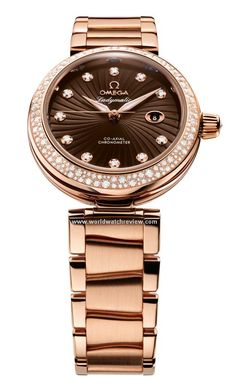 Omega Ladymatic DeVille with a Brown Dial