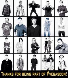 #Supernatural Cast at VegasCon 2014 <3