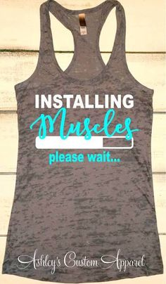 womens workout tank tops with sayings - Google Search