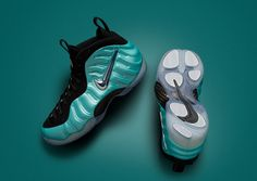 "5b408206595 Nike Air Foamposite Pro ""Island Green"" Official Photos Foams Shoes Nike"