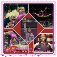 Gabby Douglas! 2012 Olympic all around gold medalist!