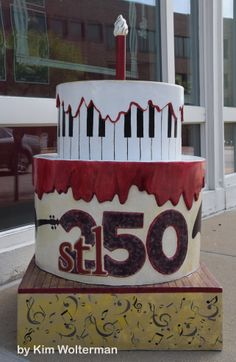 Cakeway to the West - Centene Center for the Arts view 1 #cakewaytothewest #stl250