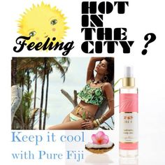 """Feeling the heat? Keep it cool by storing a Pure Fiji Hydrating Mist in your esky/fridge. Also makes an awesome detangling spray for salty wind-tossed hair... Sophia :) au.purefiji.com #pure #fiji #purefiji #beauty #sun #summer #heat #hot #sydney #natural"" Photo taken by @auspurefiji on Instagram, pinned via the InstaPin iOS App! http://www.instapinapp.com (10/27/2014)"