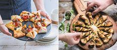 Partyrezepte schnell gemacht im Ofen: Von Pizzablume bis Partysonne