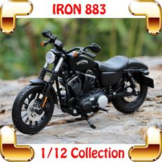 49.90$  Watch here - http://alibh8.worldwells.pw/go.php?t=32605890150 - New Year Gift IRON 883 1/12 Model Motorcycle Alloy Toys Vehicle Collection Real Simulation Decoration Motorbike
