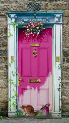 fachada loja verde e rosa - Pesquisa Google