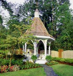 Plan #245: Gothic-Style Gazebo  $39.95  Available at Southern Living House Plans