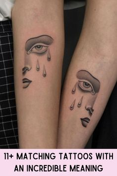 There's often a reason why people get matching tattoos. Usually, it's a great bonding experience. In fact, there are couples who, instead of just getting wedding rings, end up getting cute tattoos together. Cute Tattoos, Print Tattoos, Matching Tattoos, Why People, The Incredibles, Pair Tattoos