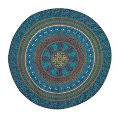 Mandala Tapestry Picnic Blanket Hippie Bohemian Wall Home Decor Round Tapestries 50' Diameter >>> For more information, visit image link. (This is an affiliate link) #Tapestries
