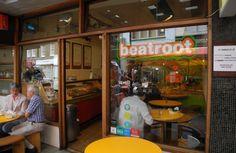 Beatroot Cafe, SoHo London. http://www.yelp.com/biz/beetroot-cafe-london