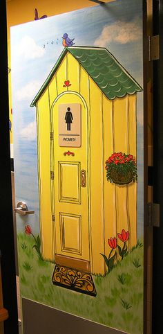 www.JMS-ART.com  An Awesome Outhouse by jms artist, via Flickr