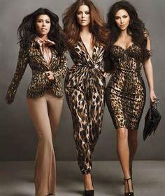 SoSexyFashion.com: The Kardashian Sisters: Setting The Record Straight