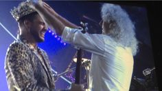 ". @DrBrianMay  the crowning of Adam! RT ""@sbw62: .@adamlambert  and Queen just KILLED IT in Chicago pic.twitter.com/GnAdP3u5qw"""