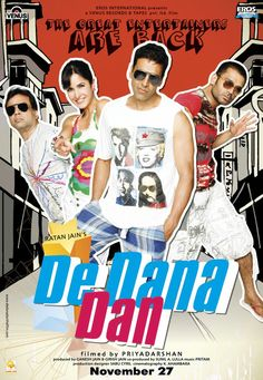 De Dana Dan (Hindi Movie) Hindi Movies, Karaoke, Rap, Bollywood, Entertaining, My Favorite Things, Films, Music, Movie Posters