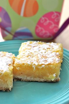 Baked Perfection: Luscious Lemon Bars. I love anything lemon or raspberry or lemon and raspberry.